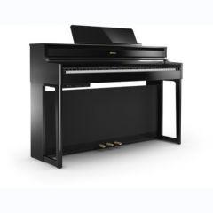 roland piano numérique meuble HP704 «polished ebony»